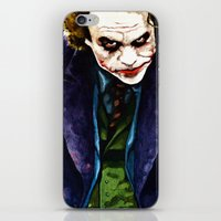 Angel Of Chaos (The Joker) iPhone & iPod Skin