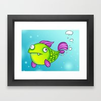 OPS!!! Framed Art Print