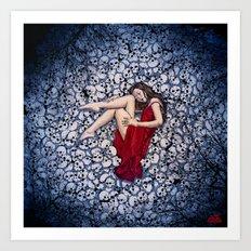 Eternal Slumber Art Print