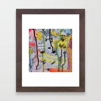 One, Two, Three Framed Art Print