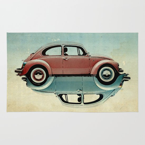 vw  ying and yang Area & Throw Rug
