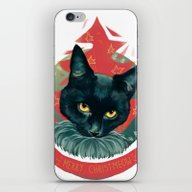 Merry Christmeow !  iPhone & iPod Skin