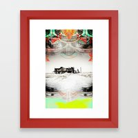 ALONG THE ROAD-VACANCY zine Framed Art Print