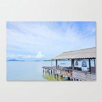 The Docks Of Koh Lanta Canvas Print