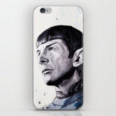 Goodbye Mr. Spock - Leonard Nimoy iPhone & iPod Skin