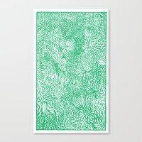 SOBREVIVENTE ZINE- PG.08 Canvas Print
