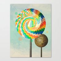 This Is No Lollipop Canvas Print