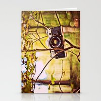 Vintage Canon Camera Stationery Cards