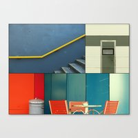 Urban Fragments Canvas Print
