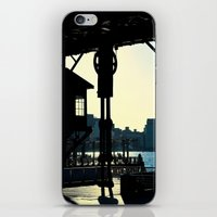 Long Island Pier iPhone & iPod Skin