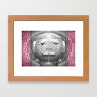 Flumercury Woman Framed Art Print
