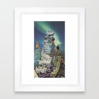 AlcheMiss USA Framed Art Print