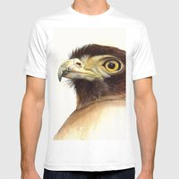 Eagle Mens Fitted Tee White SMALL