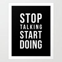 Do It! Art Print