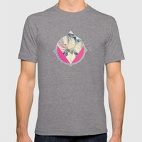 Untitled Mens Fitted Tee Tri-Grey SMALL