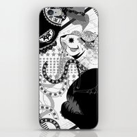 fancy deep‐sea fish! iPhone & iPod Skin