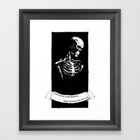 Perhaps You'll Plant A F… Framed Art Print