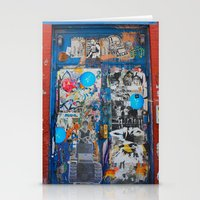 Graffiti Door NYC Stationery Cards