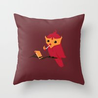 Accidental Legends: Phoe… Throw Pillow