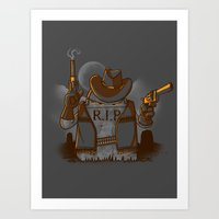 Tombstoned Art Print