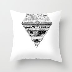 Olympe | Enfer Throw Pillow
