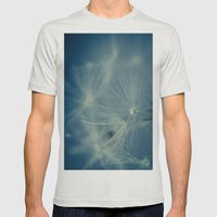 Dreaming Mens Fitted Tee Silver SMALL