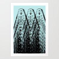 Triple Iron Art Print