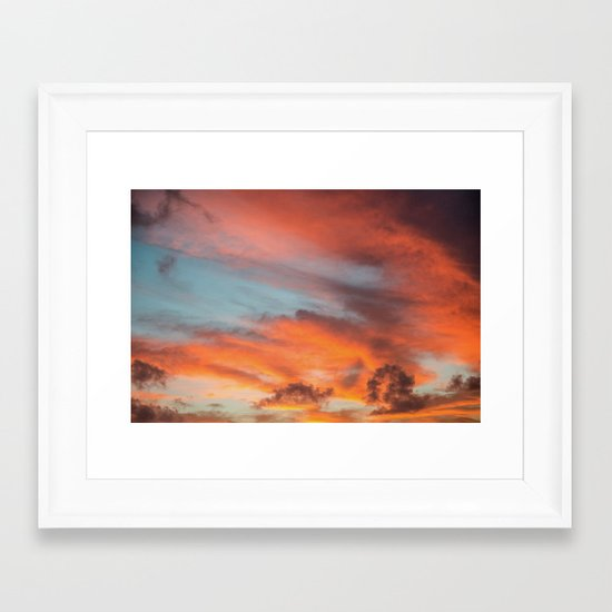 SIMPLY SKY Framed Art Print