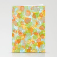 Pebbles Orange Stationery Cards