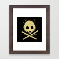 The Jolly Panda Framed Art Print