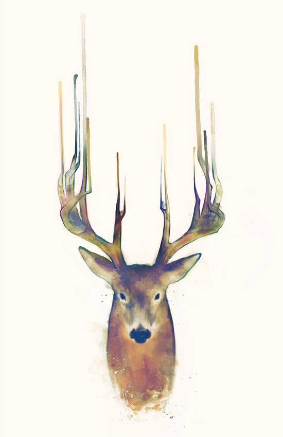 Deer // Steadfast Art Print