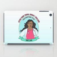 Mindy Lahiri / Kaling Print iPad Case