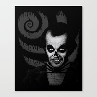 Jack T. Skeleton Canvas Print