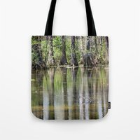 Cypress Mirror Tote Bag