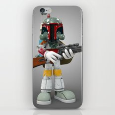 Boba Skull iPhone & iPod Skin