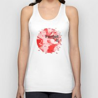 Forget It < The NO Series (Red) Unisex Tank Top