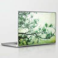 Winter Pine Laptop & iPad Skin