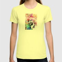 John Womens Fitted Tee Lemon SMALL