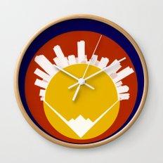 Eolus / Denver / Colorado Wall Clock