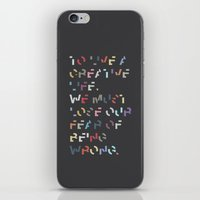 Creative Life. iPhone & iPod Skin