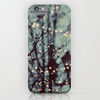 winter iPhone & iPod Cases featuring Winter Lights by elle moss