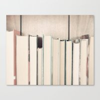 The Book Collection Canvas Print