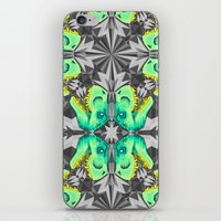 T. Rex Ice Pattern iPhone & iPod Skin