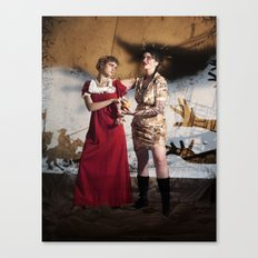 Vasalisa the Beautiful Canvas Print