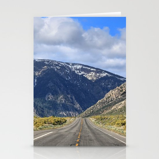 Hills Ahead Stationery Card