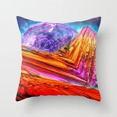 Mystic Mountain Throw Pillow