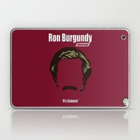 Ron Burgundy: Anchorman Laptop & iPad Skin