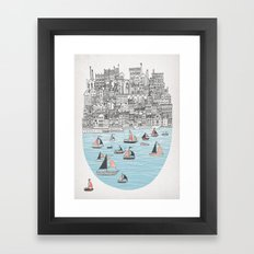 Joppa Framed Art Print