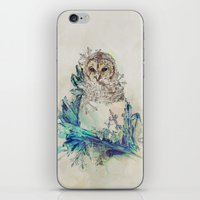 Night Frost iPhone & iPod Skin
