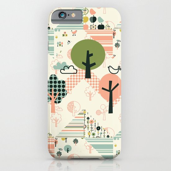 Apple Orchard Zig Zag iPhone & iPod Case